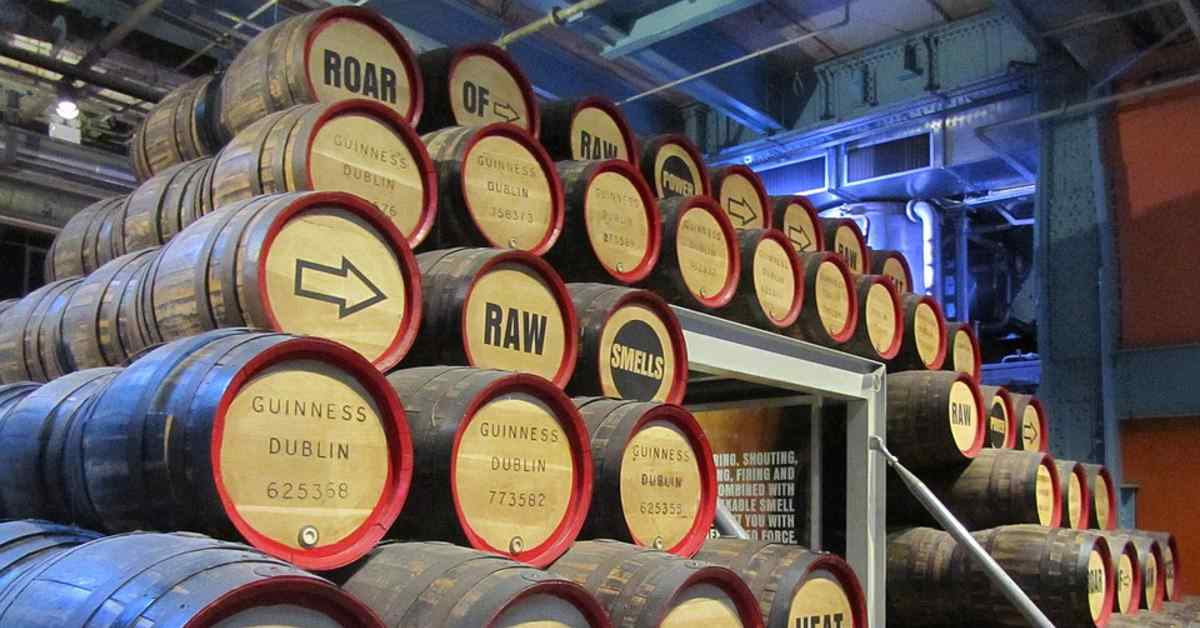 Guinness branded content management